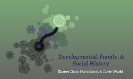 Developmental, Family, & Social History