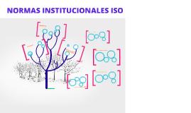 Copy of NORMAS INSTITUCIONALES ISO