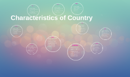 Characteristics of Country