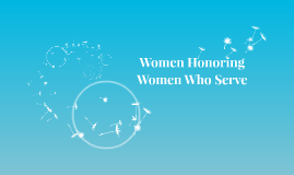 Women Honoring Women Who Serve