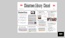 Chinatown Library Presentation
