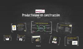 Productividad en construcción