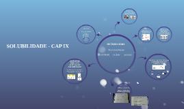 SOLUBILIDADE - ANCHIETA - CAP IX