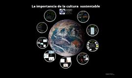 Cultura sustentable