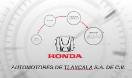 AUTOMOTORES DE TLAXCALA S.A. DE C.V.