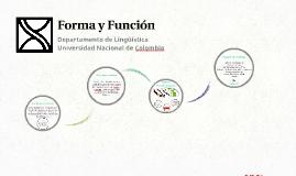 Forma y Función