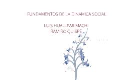 FUNDAMENTOS DE LA DINAMICA SOCIAL