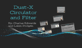 Dust-X Circulator and Filter