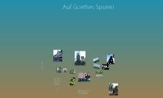 Auf Goethes Spuren