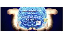 CHS Teacher Concussion Education