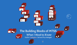 The Building Blocks of MTSS