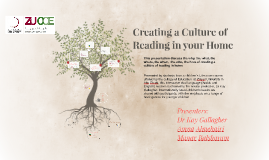 Copy of Creating a culture of reading in your home