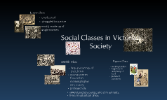 Social class in Victorian society.