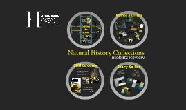 Natural History Collections Bioblitz Review - Internal Talk