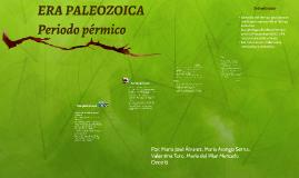ERA PALEOZOICA / PERIODO PÉRMICO
