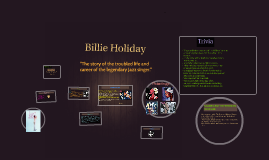 Copy of Billie Holiday