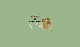 NODULOS DE MANGANESO