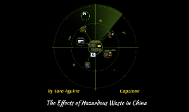 The Affects of Hazardous Waste