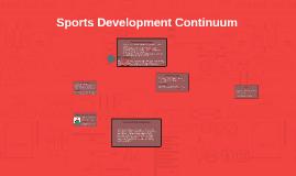 Sports Development - Continuum Part 1