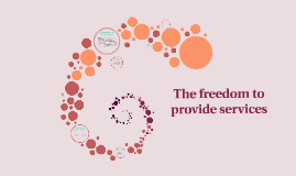 The freedom of services provided