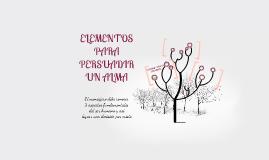 Copy of ELEMENTOS PARA PERSUADIR