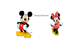 Disney Demons
