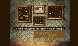 Keystone - Behavior - Classroom Management & Strategies