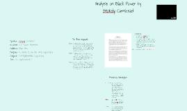 Copy of Black Power Analysis