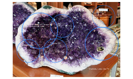 rocks composed of minerals