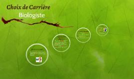Choix de Carrière