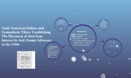 Arab-American Politics and Sympathetic Elites: The Discourse of Am