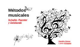 Métodos musicales