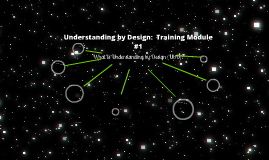 Copy of Understanding by Design Training Module #1