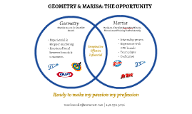 Geometry & Marisa: The Opportunity