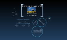 Coming of Age Presentation