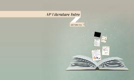 AP Literature Intro