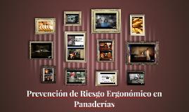 Prevención de Riesgo Ergonómico en Panaderías
