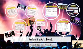 Performing Arts Event.
