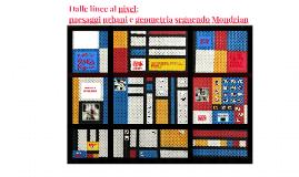 Dalle linee al pixel: paesaggi urbani e geometria seguendo Mondrian