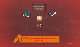 Copy of 7 Herramientas Basicas de la Calidad