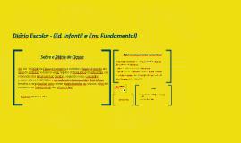 Diário Escolar - (Ed. Infantil e Ens. Fundamental)