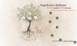 summary of napoleons buttons chapter 12 Napoleon's buttons is a great example of a 'trivia book' this is a book where you learn lots of interesting facts, but just tidbits of information so, great to impress friends and relatives at a dinner table and that's it.
