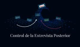 Control de la Entrevista Posterior