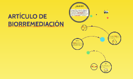 ARTÍCULO DE BIORREMEDIACIÓN