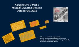 Assignment 7 Part 3