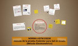 NORMA ASTM D3230