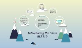 ELI Course