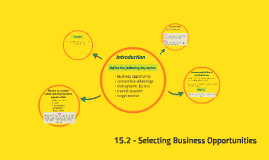 15.2 - Selecting Business Opportunities