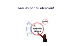 Copy of Tipos de delitos Fiscales y su clasificación. Derecho fiscal