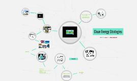 Clean Energy Strategies
